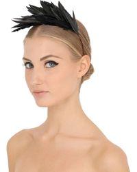Nanà Firenze - Feather Headband - Lyst