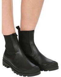 """Loewe Кожаные Ботинки """"chelsea"""" 30мм - Черный"""