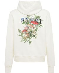 Amiri Psychedelic Print Jersey Hoodie - White
