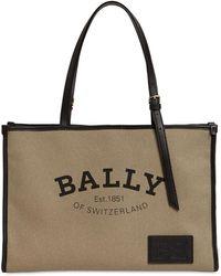 Bally Calie Naw Cabana キャンバス&レザーバッグ - マルチカラー