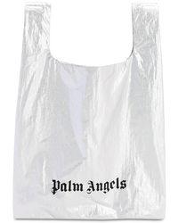 Palm Angels Tote Aus Metallischem Nylon - Mettallic