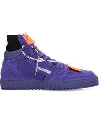 Off-White c/o Virgil Abloh Lvr Exclusive 3.0 Off Court High Sneaker - Пурпурный