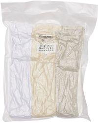 Maison Margiela コットンtシャツ 3枚パック - ホワイト