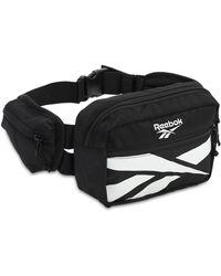 Reebok Cl Repeat Vector Belt Bag - Black