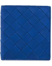 Bottega Veneta Кожаный Кошелек Для Монет Intrecciato - Синий