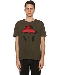 Valentino - Vu Ufo コットンジャージーtシャツ - Lyst