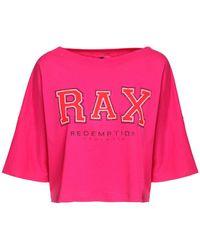 Redemption Athletix コットンジャージークロップtシャツ - ピンク