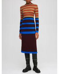 Marni Платье Из Шерсти - Многоцветный