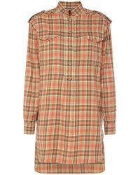 Alberta Ferretti Рубашка Из Фланели - Многоцветный