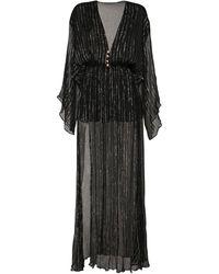 Dundas - Платье Из Шёлкового Жоржета - Lyst