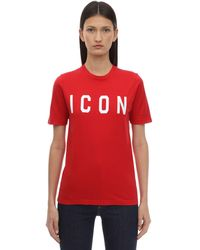 DSquared² 'Icon' T-Shirt - Rot