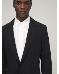 Dolce & Gabbana 超軽量ウールジャケット - ブラック