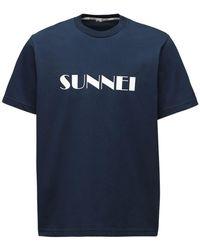 Sunnei - コットンtシャツ - Lyst