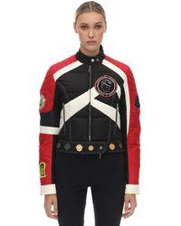 Moncler Genius Exclusive 1952 Murray Down Biker Jacket - Черный