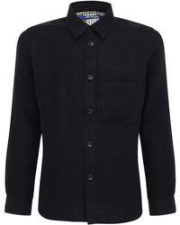 Junya Watanabe - ミルドウール&リネンツイルシャツジャケット - Lyst