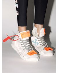 "Off-White c/o Virgil Abloh Sneakers ""lvr Exclusive Off Court"" - Weiß"