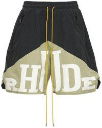 Rhude Yachting ハーフパンツ - マルチカラー