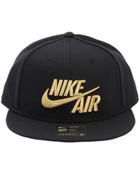 d1fec16b3a447 Lyst - Nike Sportswear Air True Snapback Baseball Hat in Black