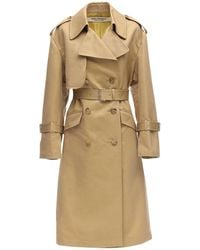Junya Watanabe Cotton Twill Trench Coat - Natural