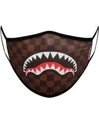 Sprayground Bedruckte Fashion-maske - Braun