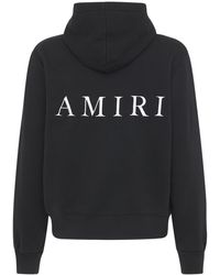 Amiri Ma ジャージースウェットフーディー - ブラック