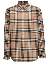 Burberry Caxton コットンポプリンシャツ - マルチカラー