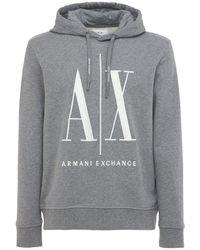 Armani Exchange Свитшот С Капюшоном - Серый