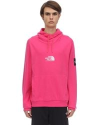 The North Face Hoodie Aus Feinem Fleece - Pink