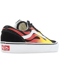 Vans – Old Skool Flame – e Sneaker - Schwarz