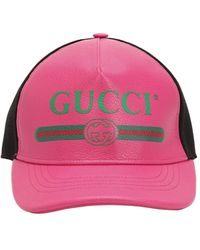 Gucci Front Logo Hat - Pink