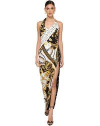 Versace - ストレッチジャージードレス - Lyst