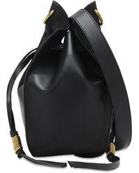 Isabel Marant Radja Leather Bucket Bag - Black