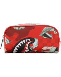 Sprayground Panic Attack Pouch - Red
