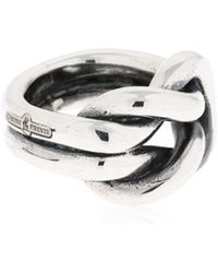 Cantini Mc Firenze - Nodo De Medici Sterling Silver Ring - Lyst