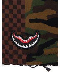 Sprayground Karo- Und Camouflage-halswärmer - Mehrfarbig