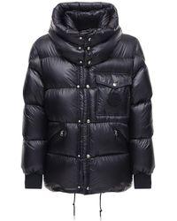 Moncler - Нейлоновая Куртка На Пуху Lamentin - Lyst