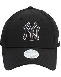 KTZ Mlb Twine 9forty Techno Baseball Hat - Black
