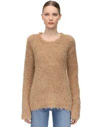 Gudrun & Gudrun Dun Brushed Alpaca Knit Jumper - Natural