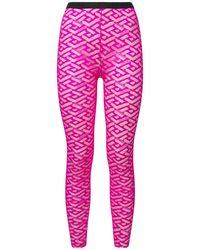 Versace Чулки Из Тюля - Многоцветный