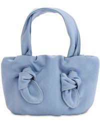 """STAUD Handtasche Aus Nylon """"ronnie"""" - Blau"""