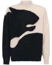 KENZO - Tiger インターシャセーター - Lyst