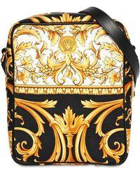 Versace - Heritage キャンバスクロスボディバッグ - Lyst