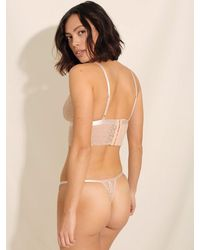 Underprotection Luna Lace Thong - Mehrfarbig