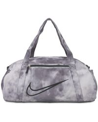 Nike Bedruckte Sporttasche - Grau