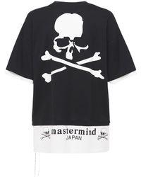 MASTERMIND WORLD - Boxy レイヤードコットンtシャツ - Lyst
