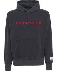 GALLERY DEPT. Art That Kills Reversible Hoodie - Black