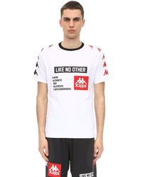 Kappa Authentic Balic ロゴサイドバンドtシャツ - ホワイト
