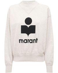 """Étoile Isabel Marant Sweat-shirt En Jersey À Logo """"moby"""" - Noir"""