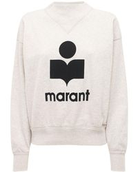 Étoile Isabel Marant Moby Logo Jersey Sweatshirt - Black