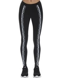 adidas Originals Stretch Cotton Blend Leggings - Black